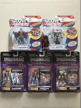 Hasbro Transformers bundle set