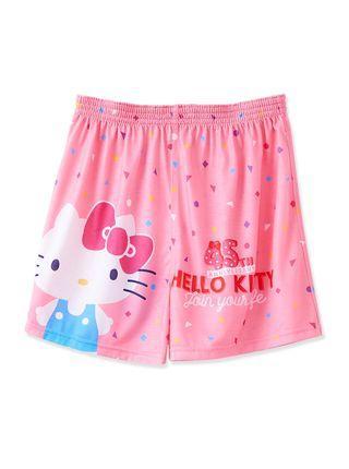 🚚 火力全開888 正版授權 品質保證 凱蒂貓平口褲-KTC096 -粉紅 居家內着 舒適柔軟透氣