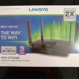 Linksys AC2600 MU-MIMO Gigabit WiFi Router