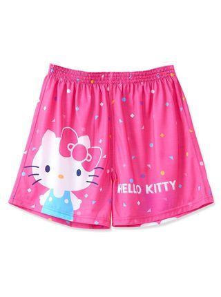 🚚 火力全開888 正版授權 品質保證 凱蒂貓平口褲-KTC095 -桃紅 居家內着 舒適柔軟透氣
