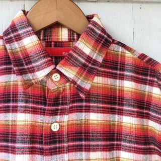 EDWIN Flannel Shirt / Kemeja Flanel Branded Second Import
