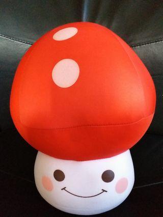 豆豆袋 草菇 公仔 mushroom soft toy