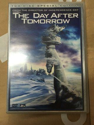 The Day After Tomorrow 明日之後 港版 DVD