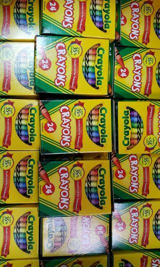 Crayola Crayons 24 支 Made in the USA