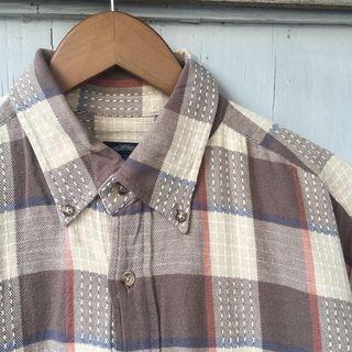 TRAD Flannel Shirt / Kemeja Flanel Branded Second Import