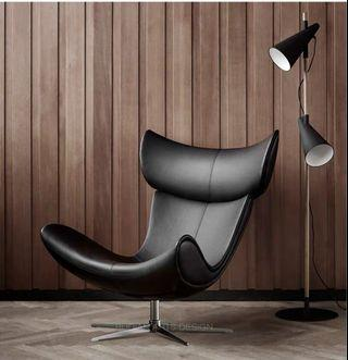 imola Chair (Black leather)