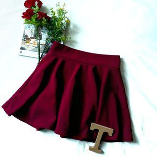 Skirt with pants inside