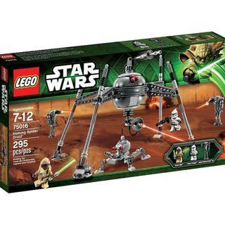 LEGO 75016 Star Wars Homing Spider Droid New