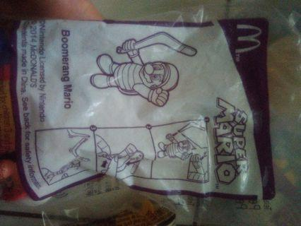 Happy meal mario boomerang