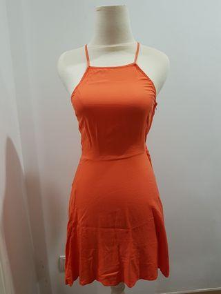 Orange Sundress (XXS) #mgag101