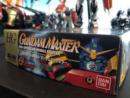 HG機動武鬥傳 1/144 GF13-006NA Gundam Maxter(美國之星高達)高達模型 NEO-Japanese Mobile Fighter