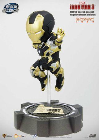 Kids Logic Iron Man Marvel Mark 42 Secret Project Night Combat Mode