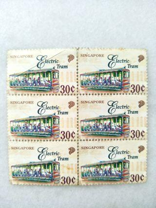 🚚 #MRTRaffles Electric Tram Stamps