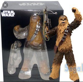 Star wars Sega Chewbacca figure 星球大戰 景品