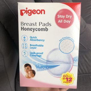 Pigeon Honeycomb Breast Pads 60s + 12