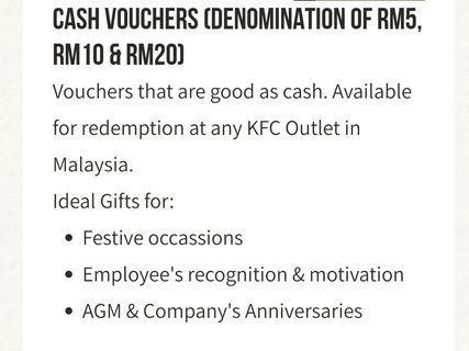 FREE KFC VOUCHERS
