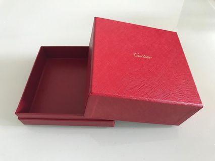 Cartier盒+Cartier紙袋