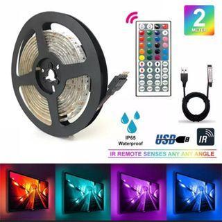 5m Waterproof 300 LED Strip 3528 6lm RGB Colour