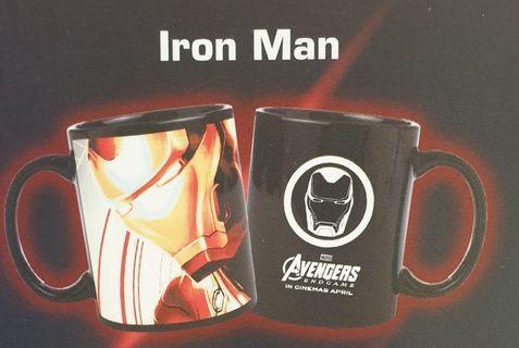 AVENGERS Ironman colour changing mug