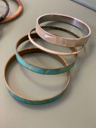 Summer assorted bracelets