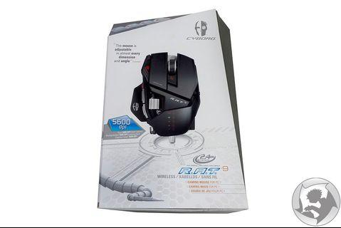 Mad Catz Rat 9 wireless Gaming Mouse