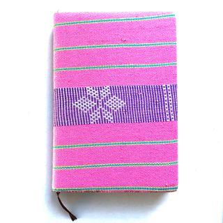 🚚 [BN] Pink Clothed A5 Lined Notebook/Planner
