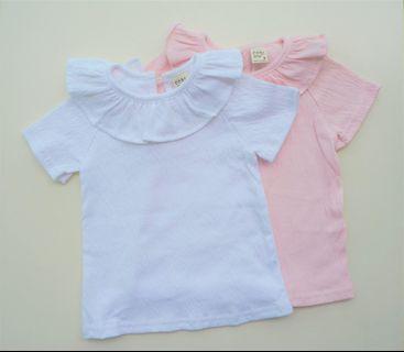 2pcs Kids Shirt 7-8yo