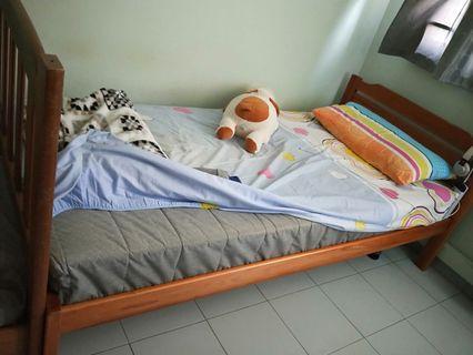 🚚 Single Bed frame (free mattress)