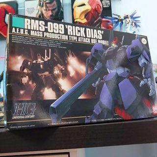 HG RMS-099 RICK DIAS 1/144 高達模型