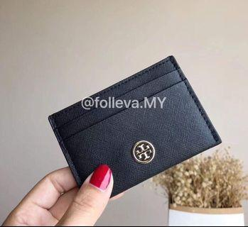 💯 Authentic Tory Burch Robinson Card Case