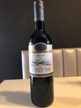 🚚 Red Wine: Oyster Bay Merlot 2016 Wine