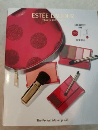 Estee Lauder Travel Exclusive 胭脂唇彩眼影化妝袋 The Perfect Makeup Gift set