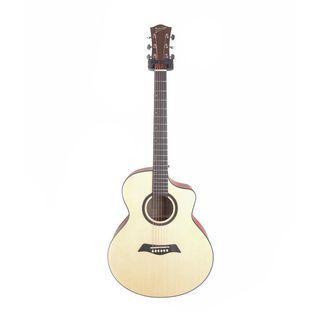 Deviser LS120n-40 雲杉木合板木吉他 送全套配件