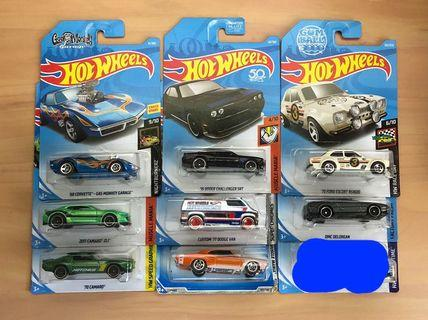 Hot Wheels Clearence