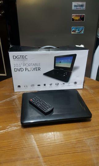 DGTEC portable DVD player