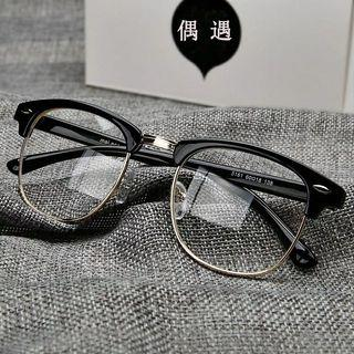 男女復古眼鏡鏡框金屬材質清涼時尚
