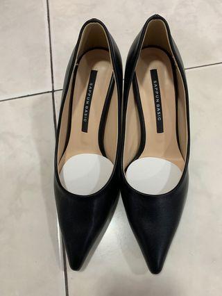sappun heels 7cm black ORI korea