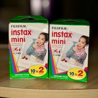 Fujifilm Instax Mini Films (20 sheets X 2)