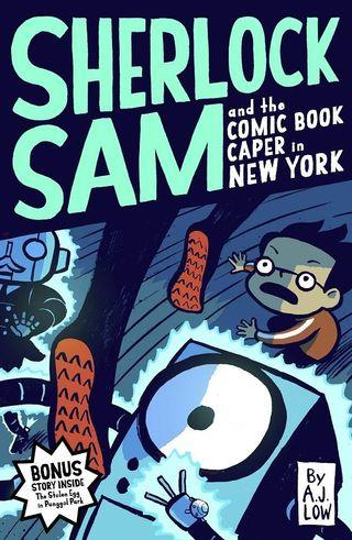 BN Sherlock Sam and the Comic Book Caper in New York (book 10) by A.J. Low