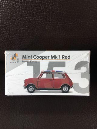 TINY 微影 MINI COOPER MK 1 RED 153 英國旗