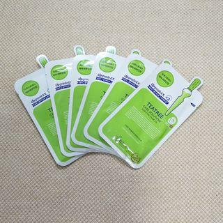 Authentic MEDIHEAL Teatree Care Solution Essential Mask x 6