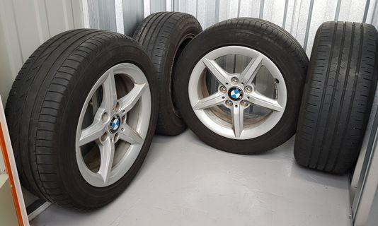 BMW 16 Inch Rims & Tyres