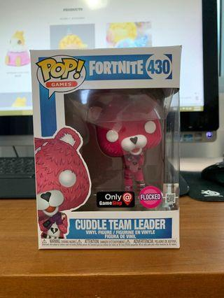 Funko Pop Fortnite - Cuddle Team Leader Flocked 430