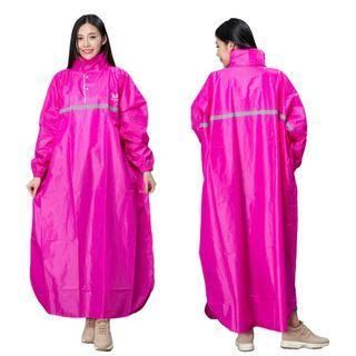 東伸 風采型 半開式 雨衣 3XL 桃紅色