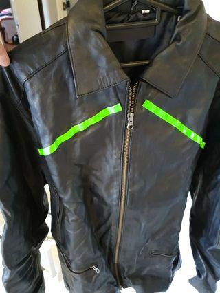 Leather Riding Jacket