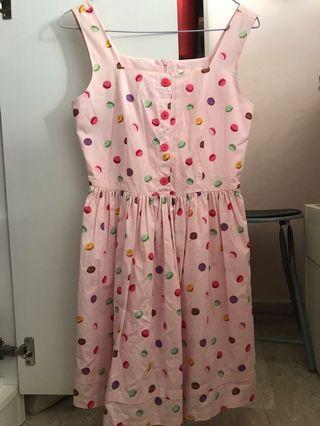 Pink Macaron Dress