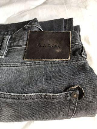 Paul Smith jean in black 黑色牛仔褲
