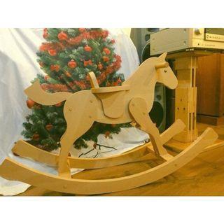 *買到賺到*Hermès愛馬仕訂製木馬擺飾
