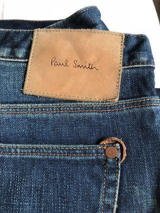 Paul smith jean in blue 牛仔褲