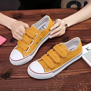 🚚 Yellow Sneakers (size 38 39 40) small cut shoes